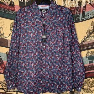 NEW Cody James Western Dress Shirt XL